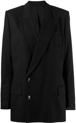 A.F.Vandevorst off-centre button blazer