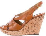 Chloé Cork Wedge Sandals