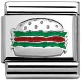 Nomination Around the World Hamburger Classic Charm 330202/35