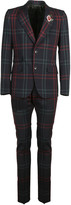 Gucci Checkered Suit