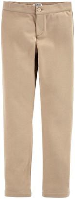 Osh Kosh OshKosh Girls' Toddler Uniform Ponte Pant
