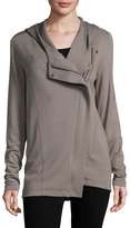Helmut Lang Women's Hooded Solid Cardigan