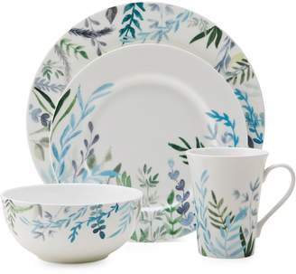 Mikasa Monet Jardin Bone China 16-Piece Dinnerware Set