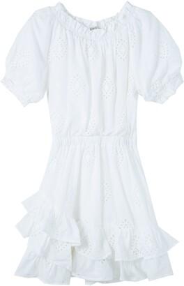 Habitual Kids' Ruffle Cotton Eyelet Dress