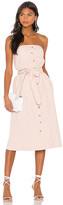 L'Academie The Isabelle Midi Dress