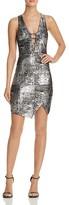 Aqua Shine Bar Envelope Dress