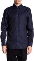 Lindbergh Graphic Pattern Long Sleeve Shirt