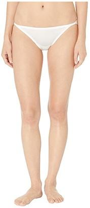 Jockey Smooth Radiant String Bikini (White) Women's Underwear