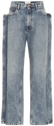 Maison Margiela High-rise straight-leg jeans