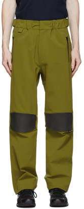 GR10K Green Schoeller Track Pants