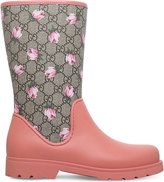 Gucci Rainy GG floral rain boots 4-8 years