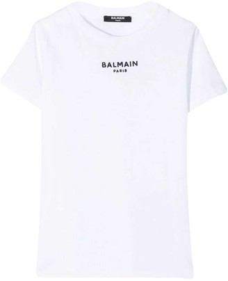 Balmain White T-shirt Teen