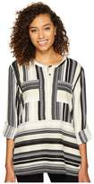 Romeo & Juliet Couture Double Pocket Stripe Tunic