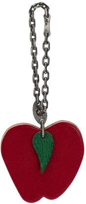 Hermes 2000s Pre-Owned Apple Charm