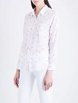 Rails Charli watermelon-print linen-blend shirt