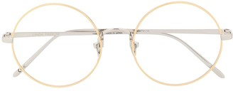 Linda Farrow Round Frame Optical Glasses