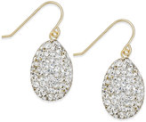 Macy's Crystal Drop Earrings in 10k Gold