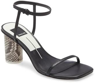 Dolce Vita Naomey Strappy Statement Heel Sandal