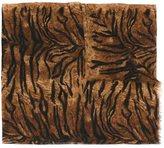 Saint Laurent leopard print scarf