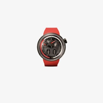 Hyt X Eau Rouge red H0 watch