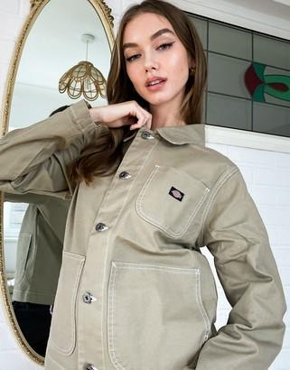 Dickies Toccoa jacket in khaki