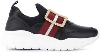 Bally Brinelle strapped sneakers
