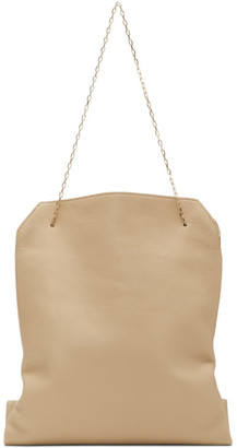The Row Beige Small Lunch Bag