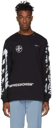 Off-White Off White SSENSE Exclusive Black Impressionism T-Shirt