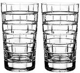 Rogaska Quoin Highball Glass, Set of 2