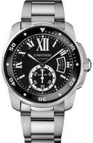 Cartier Calibre De W7100057 Men's Stainless Steel Watch Chronograph