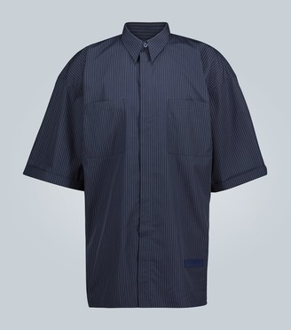 Givenchy Pinstriped short-sleeved shirt