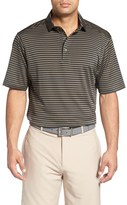 Bobby Jones Men's 'Feed Stripe - Xh20' Stretch Golf Polo