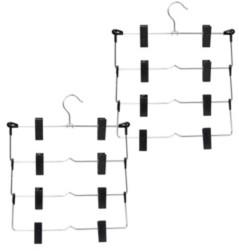 Honey-Can-Do 2-Pk. 4-tier Fold Up Skirt Hanger