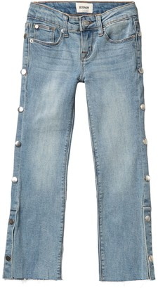 for Big Girls 8 HUDSON Skinny Crop Jeans with Double-Step Hem