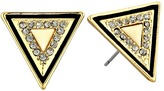House Of Harlow Teepee Triangle Studs