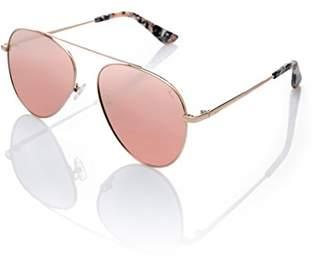 Starlite Universe Women's Naomi Campbell, metallic sun glasses Sunglasses