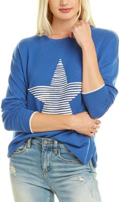 Kier & J Textured Star Cashmere Sweater