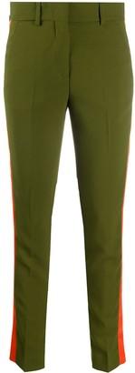MSGM Side-Stripe Slim-Fit Trousers