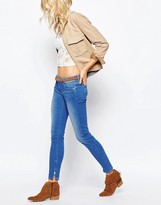 Pepe Jeans Cher Ankle Zip Low-Rise Jean