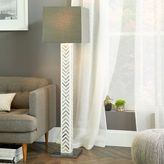 west elm Parsons Bone Tile Floor Lamp - Pillar