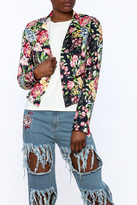 OVI Modern Floral Blazer