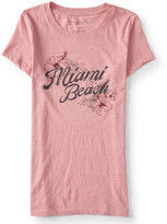 Aeropostale Miami Beach Graphic T
