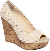 American Rag Shoes, Laceyy Platform Wedges