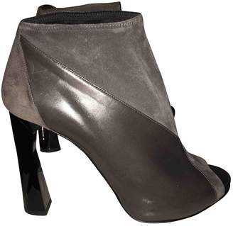 Pierre Hardy \N Grey Leather Ankle boots