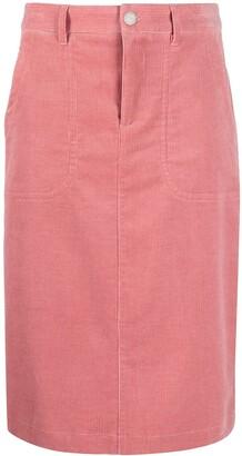 A.P.C. Jennie corduroy skirt