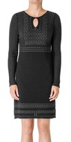 Max Studio Long Sleeved Knitted Sweater Dress