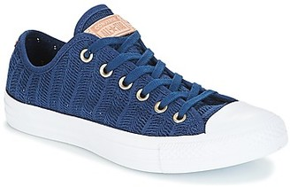 Converse Chuck Taylor All Star-Ox women's Shoes (Trainers) in Blue
