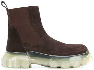 Rick Owens chunky Chelsea boots