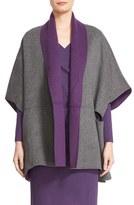 Armani Collezioni Women's Reversible Wool & Cashmere Cape