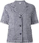 Aspesi checked blazer - women - Cotton/Polyurethane - 38